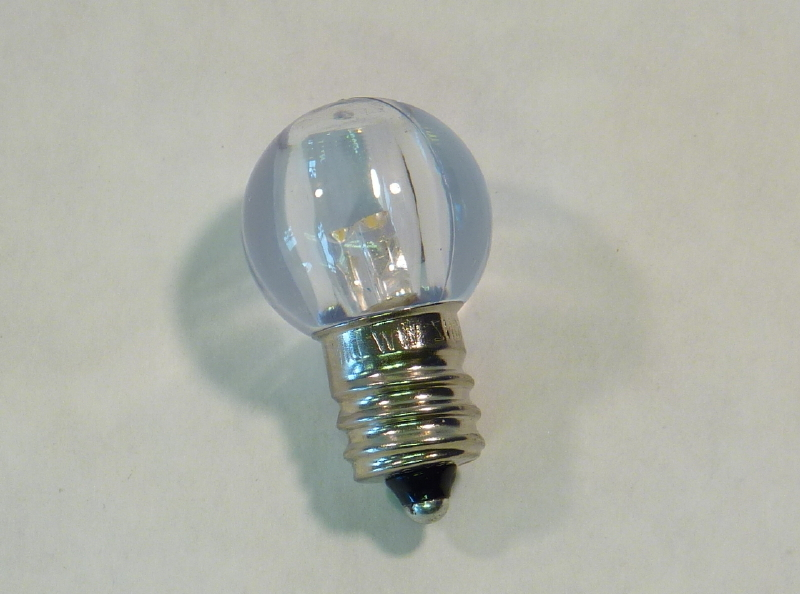 clearance g20 transparent white led bulbs pack of 25 minleon brand
